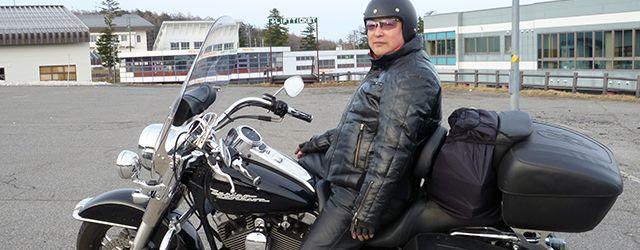 バイクで全国を巡る旅