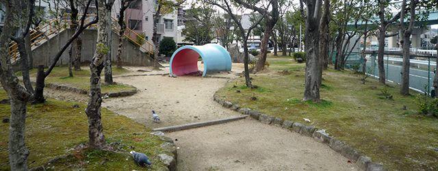 団地の公園イメージ