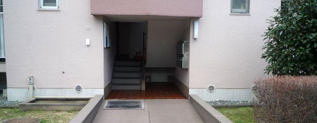 物件の入口