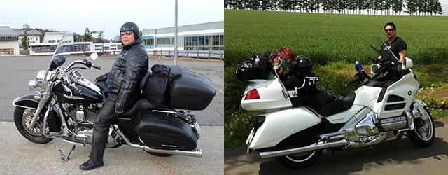 日本全国、バイクで旅しました
