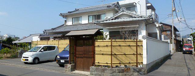 立派な日本家屋のお住まい