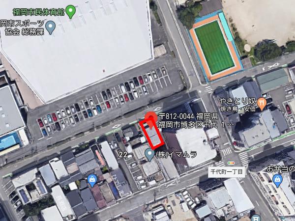 福岡市博多区千代1丁目土地