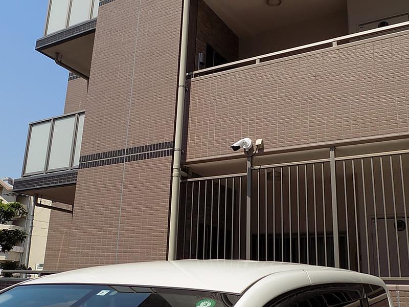 駐車場 防犯カメラ